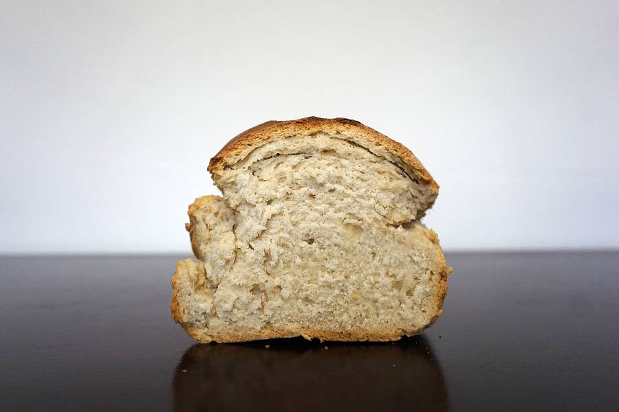 bread made with self rising flour