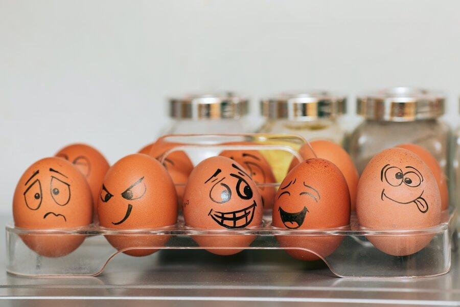 eggs and egg whites